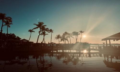 USA / Floryda / Islamorada / Zachód słońca na Islamorada
