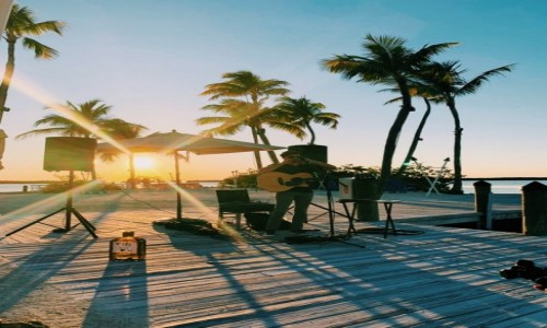 Zdjecie USA / Florida Keys / Islamorada / Zachód słońca Florida Keys