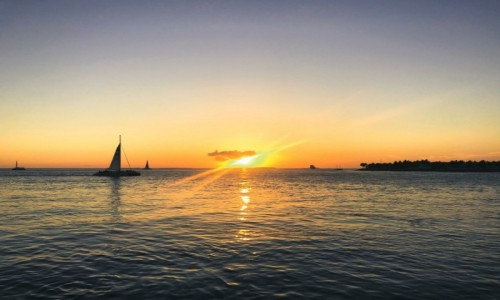 Zdjecie USA / Florida Keys / Key West / Zachód słońca Mallory Sq