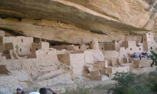 Zdjęcie USA / Kolorado / Mesa Verde / osiedle indian Anasazi