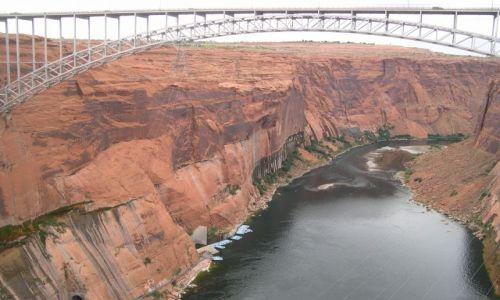 Zdjecie USA / brak / Arizona / most na Kolorado nieopodal Page