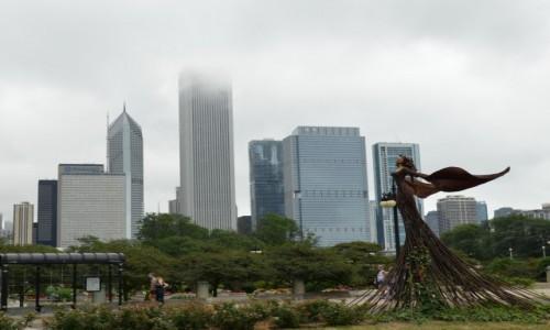 Zdjecie USA / stan Illinois / Chicago / Drapacze chmur w Chicago
