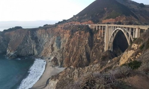 Zdjecie USA / California / Big Sur / Bixby Bridge