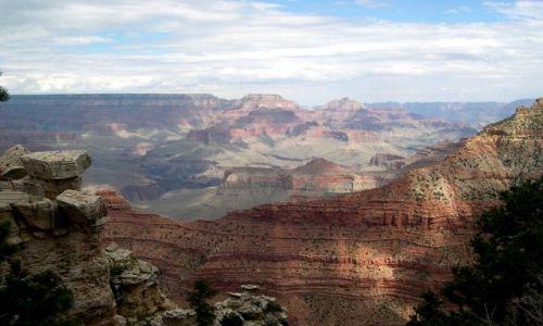 Zdjecie USA / brak / Arizona / Grand Canyon - poludniowy brzeg