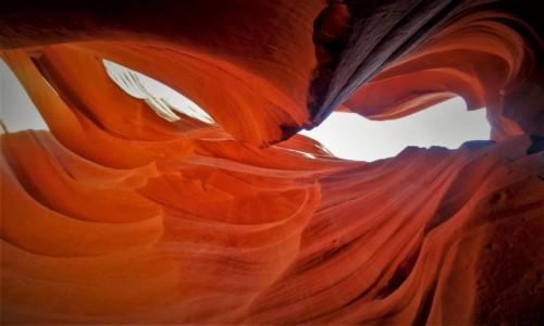 Zdjecie USA / Utah / Antelope Canyon (dolny) / Wspomnienie z Krainy Czarów