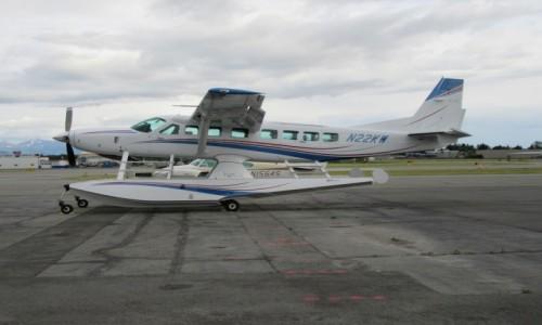 Zdjęcie USA / Anchorage / Anchorage / Gdzie by tu polecieć ?