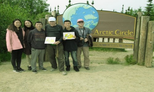 USA / Alaska / Alaska / Spotkanie pod Kołem Podbiegunowym