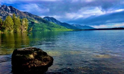 USA / Wyoming / Grand Tenton / Dziko piękne Grand Tenton