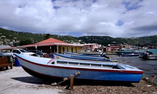 USA / Wyspy Dziewicze Stanów Zjednoczonych / Charlotte Amalie / Frenchtown Marina