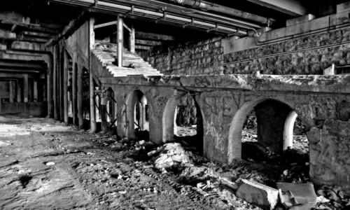 Zdjecie USA / Stan New York / Rochester / Opuszczone metro w Rochester, New York