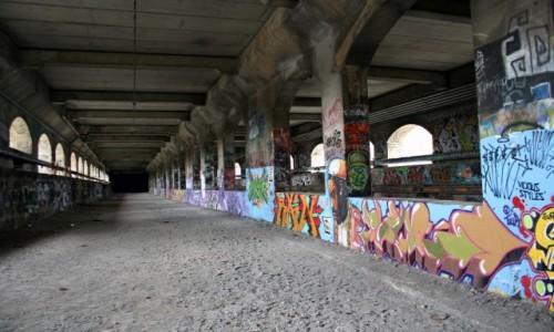 Zdjecie USA / Stan New York / Rochester / Opuszczona kolejka podziemna w Rochester, NY