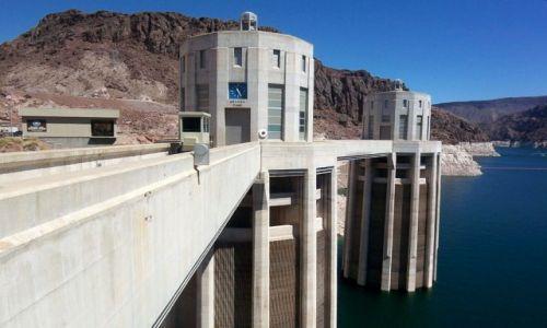Zdjęcie USA / brak / Nevada / zapora Hoovera