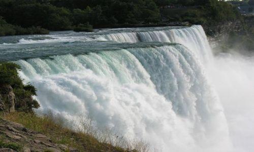 Zdjecie USA / brak / Niagara Falls / Siła wody