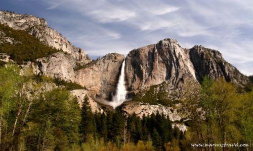Zdjecie USA / Kalifornia / Yosemite / najwyzszy wodospad w Usa
