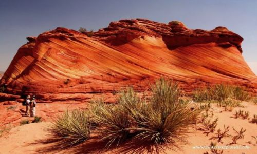 Zdjecie USA / Utah / the Wave / kolory Utah