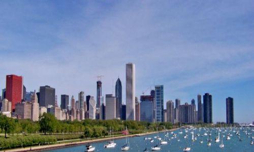Zdjecie USA / brak / Illinois / Chicago / skyline