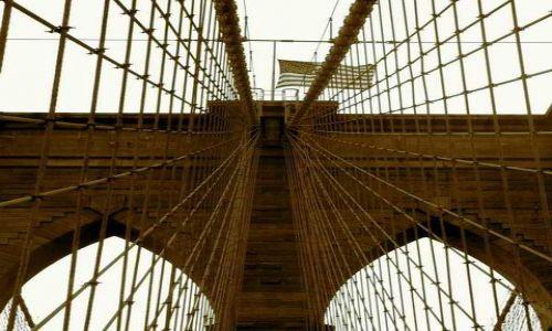 Zdjecie USA / Nowy Jork / Nowy Jork / Brooklin Bridge