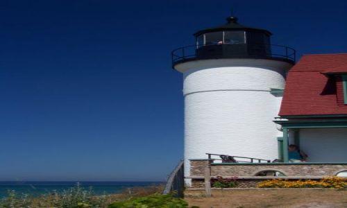 USA / brak / Michigan / Frankfort / Point Betsie Lighthouse