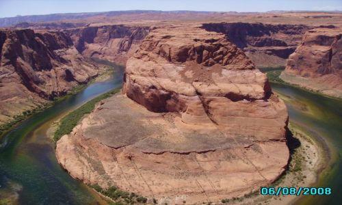 Zdjecie USA / Arizona / Zakole rzeki Colorado / Rzeka Colorado