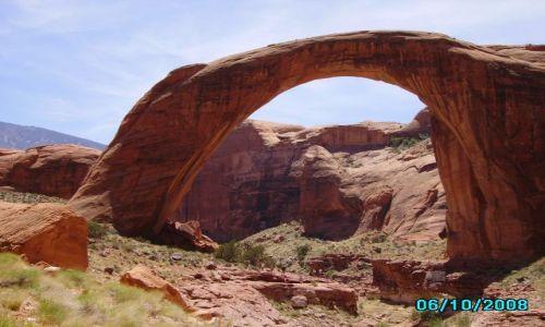 Zdjecie USA / Arizona / Najwiekszy naturalny  most na świecie / Rainbow Bridge