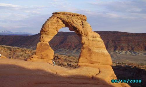 Zdjecie USA / Utah / Arches Park / Delicate Arch