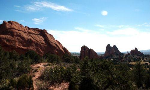 USA / Colorado Springs / Garden of The Gods / Denver i okolice /stan Colorado/