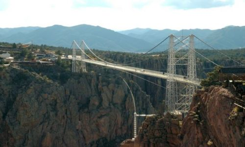 USA / Cañon City , CO / Royal Gorge Bridge / Denver i okolice /stan Colorado/