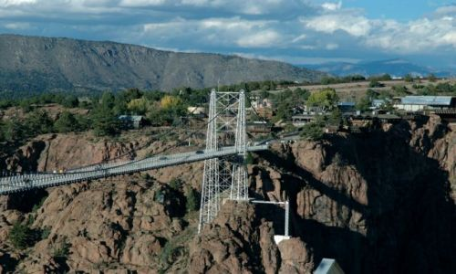 USA / Canon City , CO / Royal Gorge Bridge / Denver i okolice /stan Colorado/