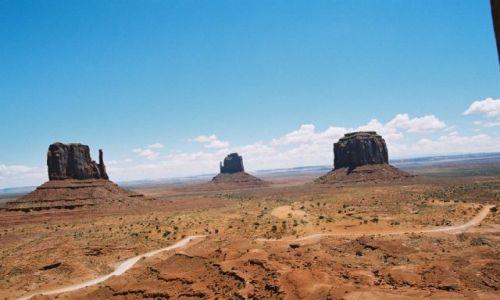 Zdjecie USA / brak / Valley Tribal Park / The Mittens East i West