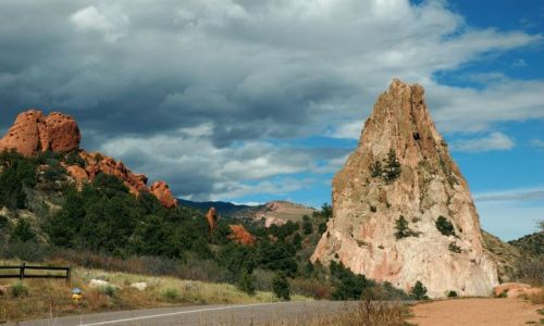 Zdjecie USA / Colorado / Garden of the Gods / W