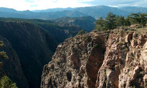 Zdjecie USA / Colorado / Canon City / Royal Gorge Bridge / Kanion rzeki Arkansas w całej okazałości