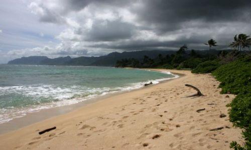 Zdjecie USA / Hawaje / Oahu / Plaża