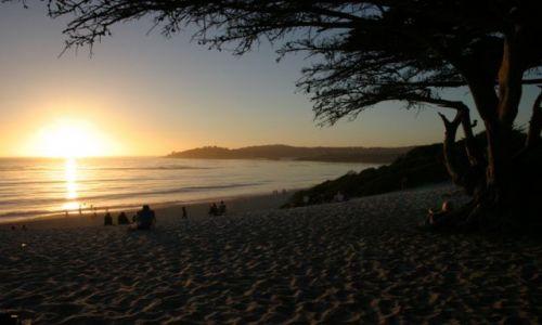 Zdjecie USA / Kalifornia / Zatoka Monterey / Po długim dniu