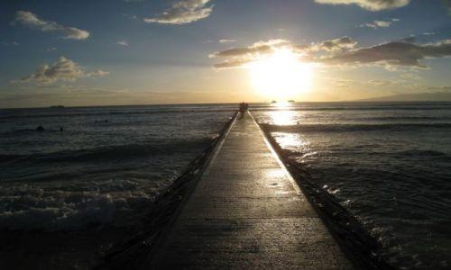 Zdjecie USA / Hawaje / Waikiki Beach / Waikiki