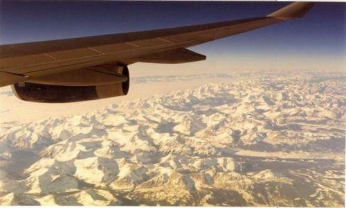 Zdjecie USA / Wyoming / Gory Skaliste / lot nad Gorami