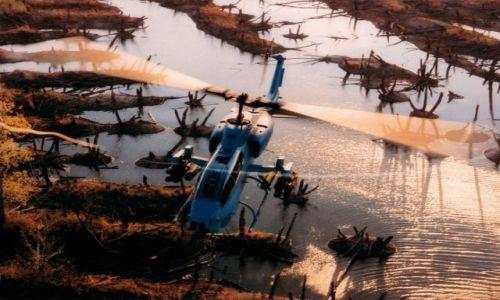 Zdjecie USA / Luizjana / Shrevenport / SuperCobra z wynajętego helikoptera