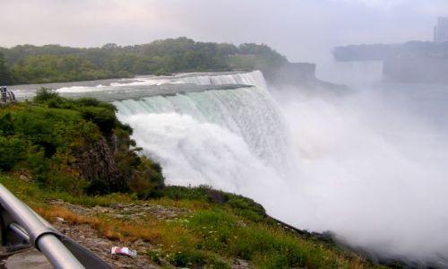 Zdjęcie USA / Niagara / Wodospad po stronie USA / Niagara Falls