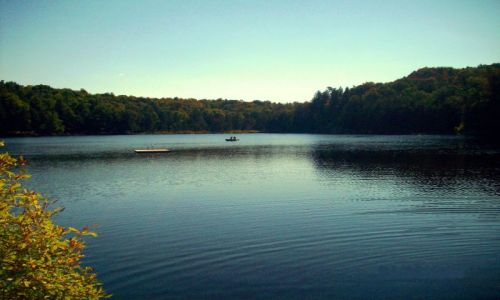 Zdjęcie USA / NY State / NY State / Jeziorko