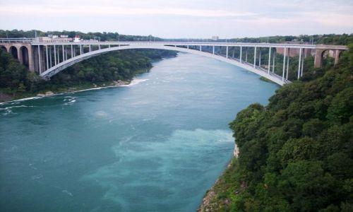 Zdjecie USA / NY State / Niagara Falls / Most: Kanada - USA