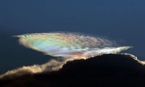 Zdjecie USA / S. Florida / j.w. / Teczowa chmura