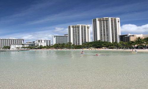 Zdjecie USA / Hawaje / Wyspa Oahu / Waikiki Beach