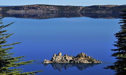 Zdjecie USA / Oregon / Crater Lake NP / Phantom Ship