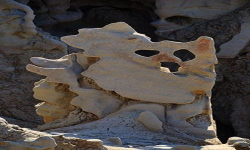 Zdjecie USA / Utah / Vernal / Kamienna maska
