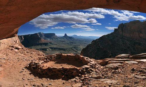 Zdjecie USA / Utah / Canyonlands / False kiva