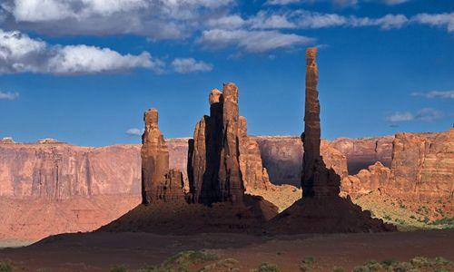 Zdjecie USA / Utah/Arizona / Monument Valley / Monument Valley
