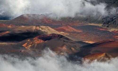 USA / Hawaje / wyspa Maui / Haleakala Crater I