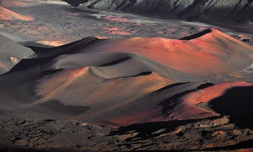 USA / Hawaje / wyspa Maui / Haleakala Crater II