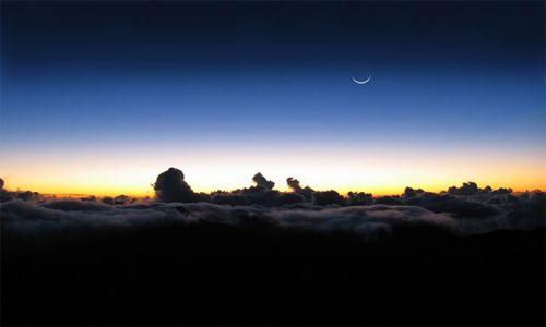 Zdjecie USA / Hawaje - wyspa Maui / Haleakala Crater / Nad chmurami