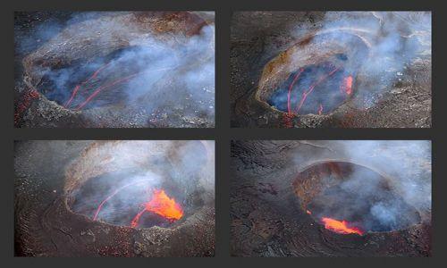 Zdjecie USA / Hawaje - wyspa Big Hawaaii / Pu'u'O'o Crater / Bramy Piekieł