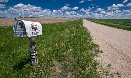 Zdjecie USA / Montana, Wyoming, Colorado, Arizona, Utah, Nebraska / przy drodze / Skrzynki na listy na Dzikim Zachodzie I